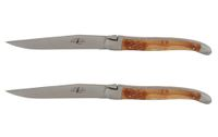 Forge de Laguiole Set Knives Juniper INOX