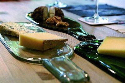 """Poesie et Table Vino Servierplatte """"Wein ist Poesie..."""" – Bild 3"""