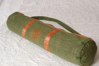 Yogatasche handgenäht grün