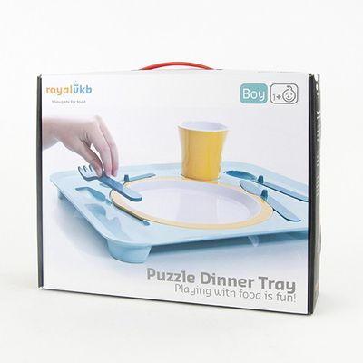 royal vkb Puzzle Dinner Tray BOY – Bild 5