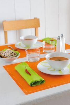 MYdrap Baumwoll Dinner-Servietten 32 x 32 cm perlgrau – Bild 6