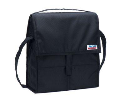 PACKIT Picknick Kühltasche schwarz