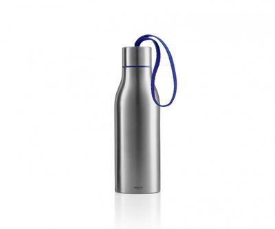 eva solo Thermoflasche 0,5l, blau – Bild 1