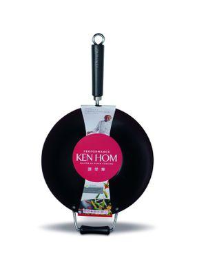 Ken Hom Performance Wok, 32 cm, Anithaft Karbonstahl – Bild 1