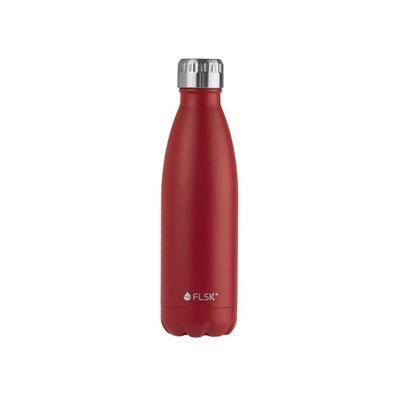 FLSK Vakuum Isolierflasche 500 ml bordeaux rot – Bild 1