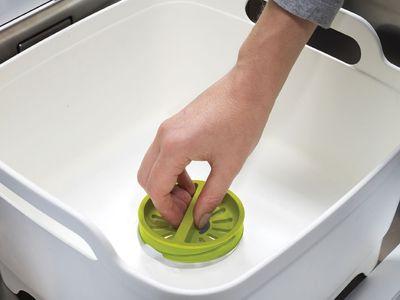 AKTION JOSEPHJOSEPH Spülschüssel mit Siebvorrichtung Wash & Drain mit gratis Spülbürste – Bild 3