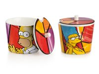 EGAN SIMPSONS Zuckerdose Homer/Marge