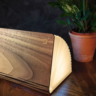 ginkgo Book Light Walnuss, warmes Licht – Bild 6