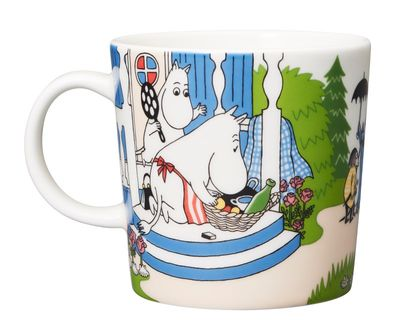 Moomin Becher 0,3L Going on Vacation    – Bild 1