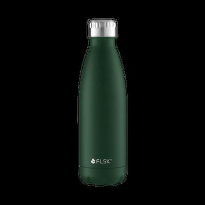 FLSK Vakuum Isolierflasche 500 ml Forest grün – Bild 1