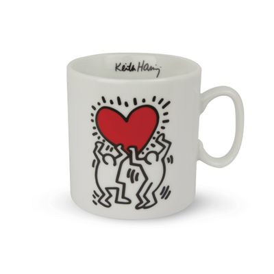 EGAN  Tasse KEITH HARING TWO DANCER 300 ml