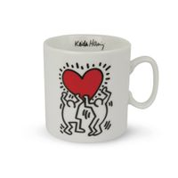 EGAN  Tasse KEITH HARING TWO DANCER 300 ml  001