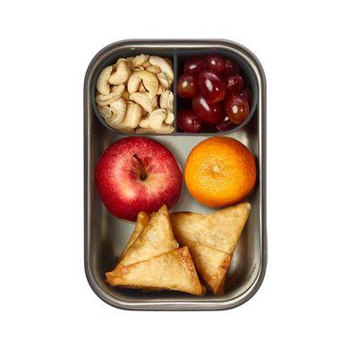 black + blum Edelstahl Sandwichbox gross 1250 ml, olive – Bild 3