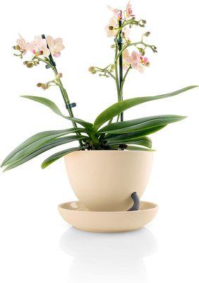 eva solo Selbstbewässernder Blumentopf Ø13 | Keramik und Nylon | Sand  – Bild 1