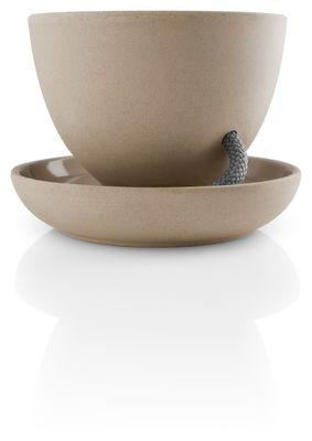 eva solo Selbstbewässernder Blumentopf Ø13 | Keramik und Nylon | Nature – Bild 2