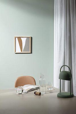 eva solo  Glaskaraffe mit Holzstopfen | 1.0l | Glas, Eichenholz und Silikon – Bild 4