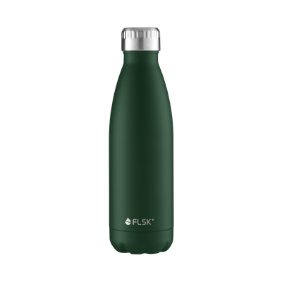 FLSK Vakuum Isolierflasche 500 ml Forest grün  - Generation  2