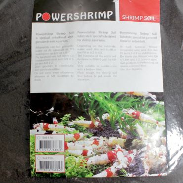 Powershrimp Shrimp Soil Soil Substrate 6 L  – Bild 2