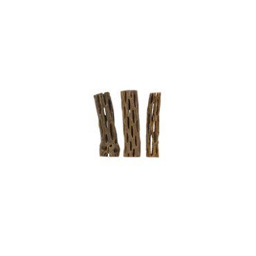 """Borneo Wild Cactus Wood Stick 1 3 """"2,2-5 cm 3 st."""