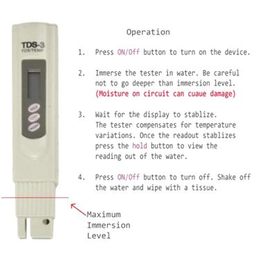Tds / ppm Digital Meter  – Bild 5