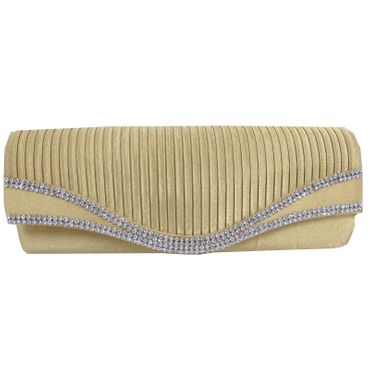 Just Lili Clutch Bag Gold