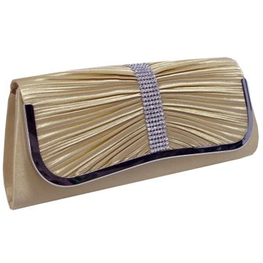 Just Lili Damen Clutch Bag Gold