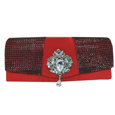 Just Lili Damen Clutch Bag Rot