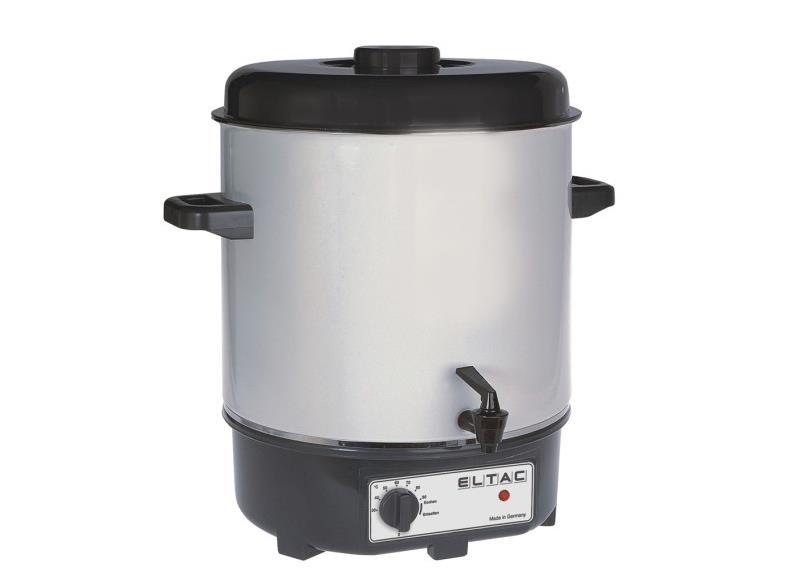 Einkochautomat 27L Glühweinkocher Heißwasserkocher Flaschenkocher Getränkekocher – Bild $_i