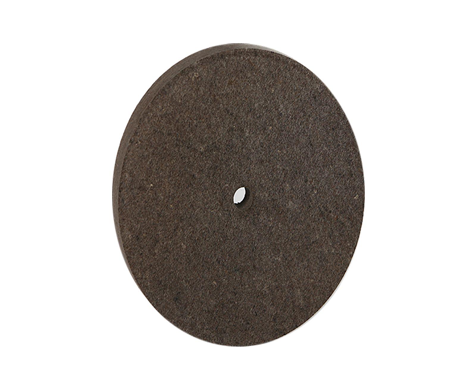 Filzscheibe 200x25x16mm für Bandschleifmaschine Polierscheibe Filz 0.56 - 0.60 001