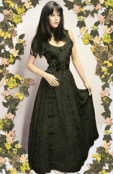 Kleid für Mittelalter und Gothic – Bild 18