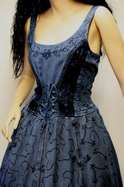 Kleid für Mittelalter und Gothic – Bild 16