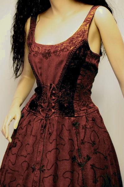 Kleid für Mittelalter und Gothic – Bild 23