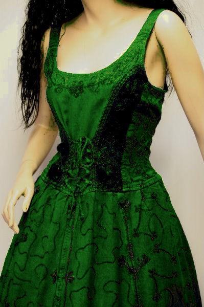 Kleid für Mittelalter und Gothic – Bild 15