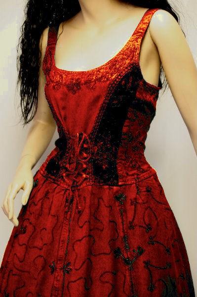 Kleid für Mittelalter und Gothic – Bild 17