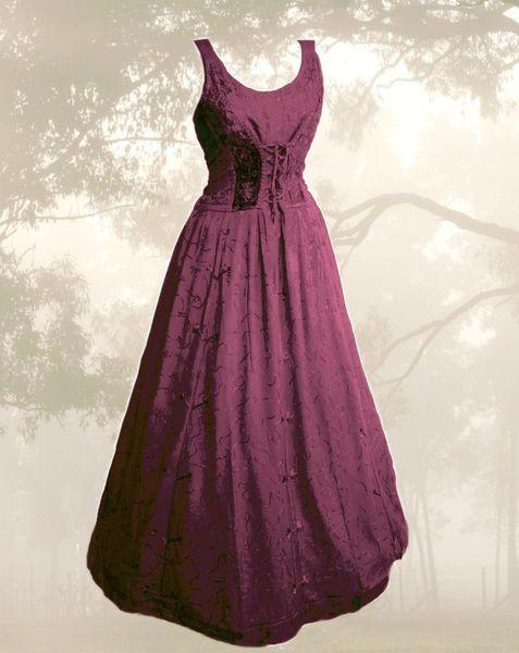 Kleid für Mittelalter und Gothic – Bild 25