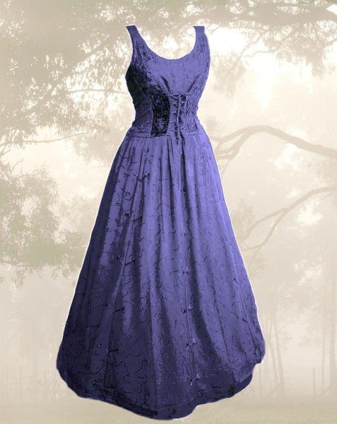 Kleid für Mittelalter und Gothic – Bild 3
