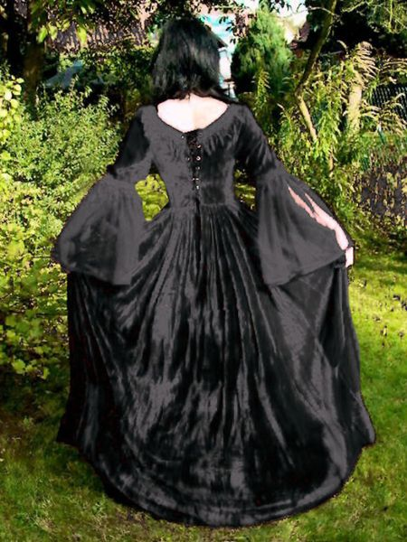 Kleid Dark Wedding – Bild 7