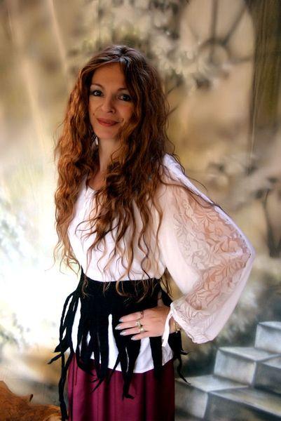 Mittelalter-Bluse Hannah  – Bild 6