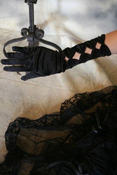 Handschuhe Satin Long – Bild 7