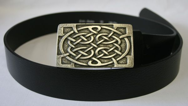 Gürtel Celtic altsilber – Bild 1