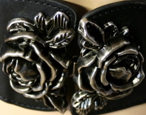 Gürtel Rose of Black Metal – Bild 2