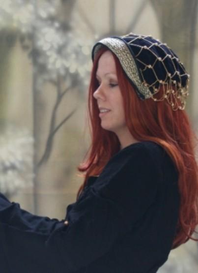 Perlenhaube Boleyn – Bild 10