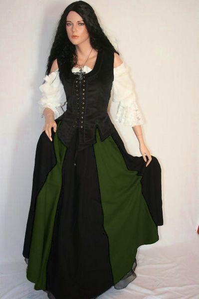 Mittelalterkleid Brighid – Bild 2