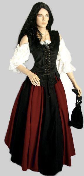 Mittelalterkleid Brighid – Bild 16