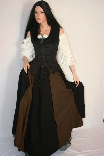 Mittelalterkleid Brighid – Bild 4
