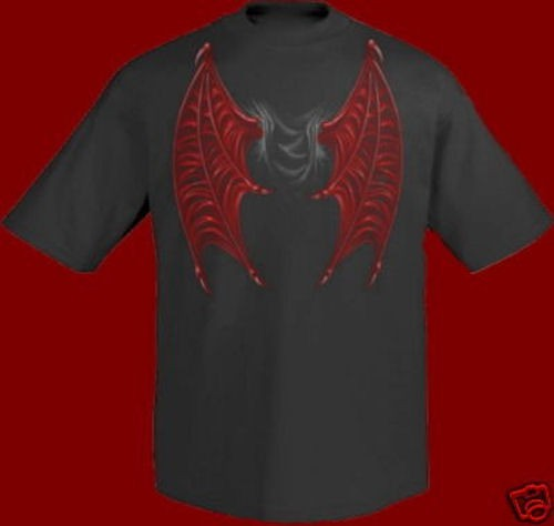 T-Shirt Demon Wings
