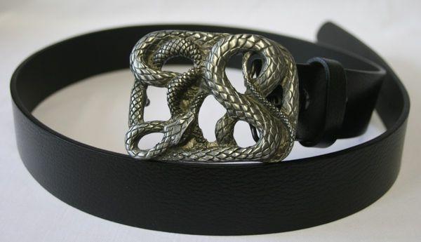 Gürtel Snake altsilber – Bild 1