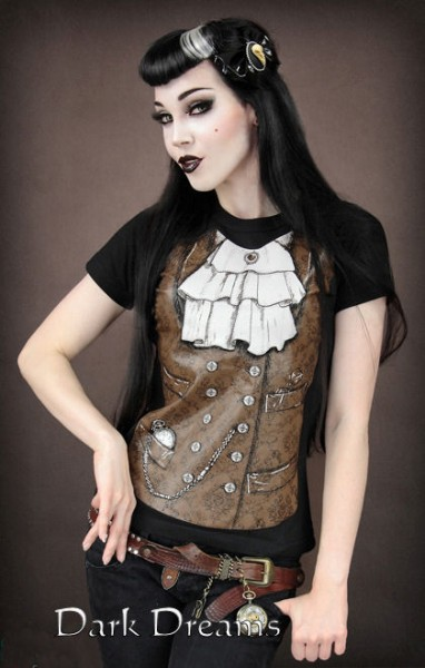 Shirt Steampunk  – Bild 1