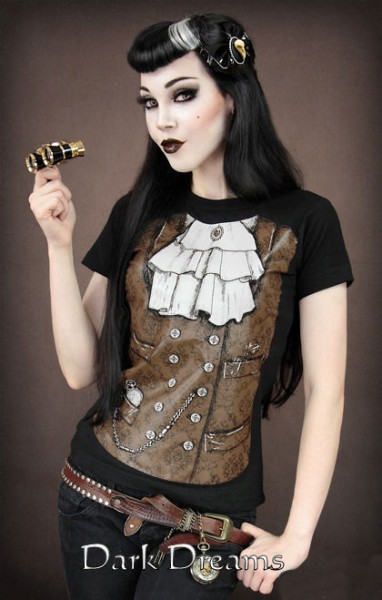 Shirt Steampunk  – Bild 2