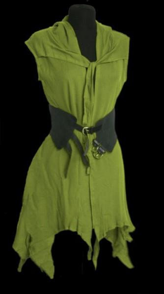 Ärmellose Jacke Spell moosgrün – Bild 4